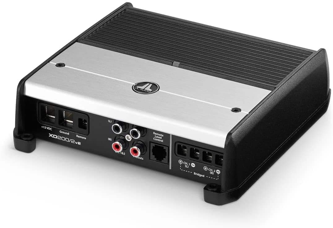 JL Audio XD200/2v2 Class D 2-Channel Car Amplifier