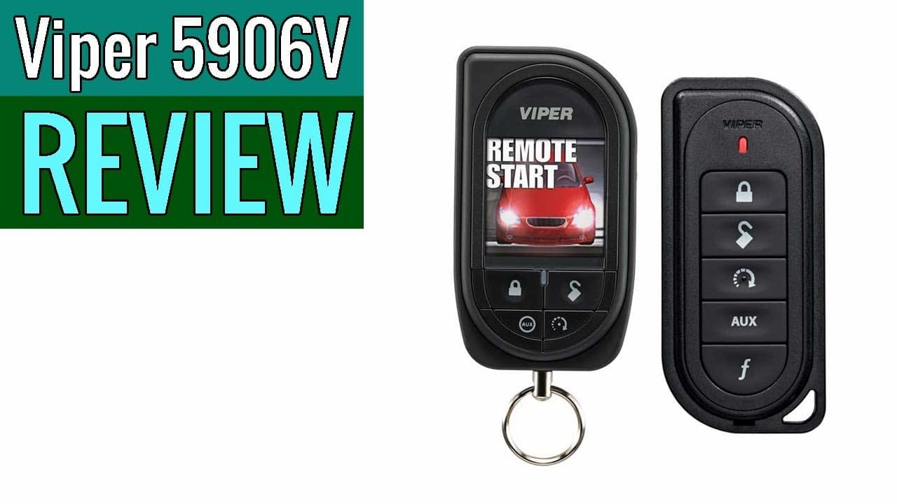 viper 5906v remote car alarm