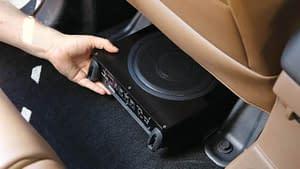 best under seat car subwoofers