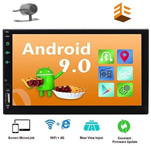 Eincar Android 10.0 Car Stereo with backup camera