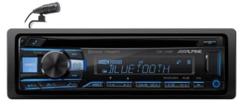 Alpine CDE-172BT Single Din radio