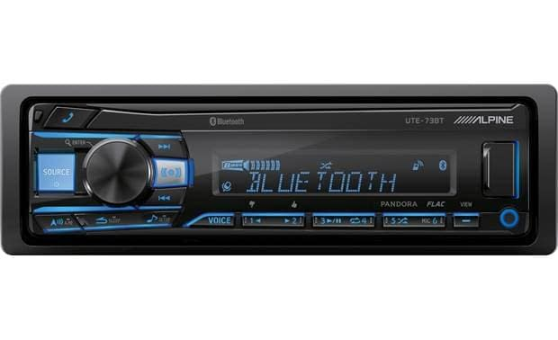 Alpine UTE-73BT Single Din Bluetooth receiver