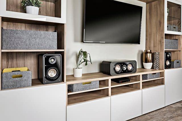 home audio set up