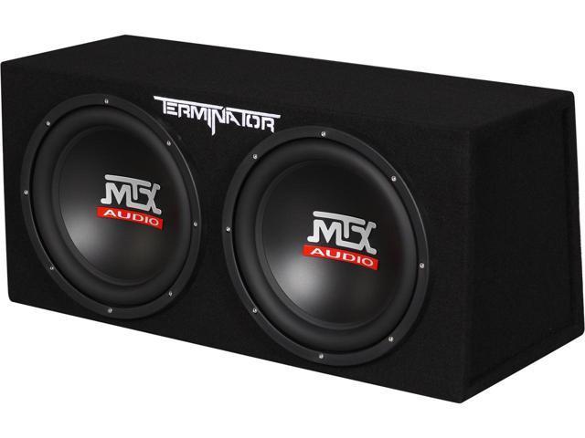 MTX Audio TNE212D Dual Subwoofer Review